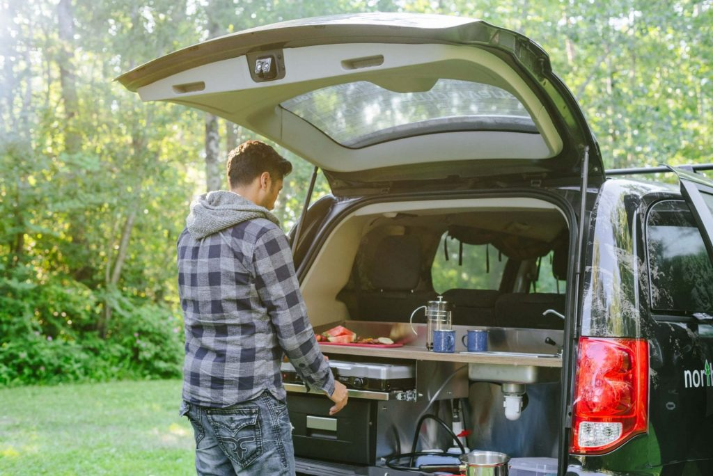 Camping with a North Campervan