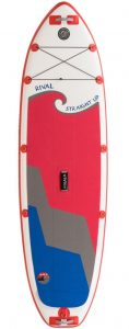 Inflatable stand up paddle board (iSUP)