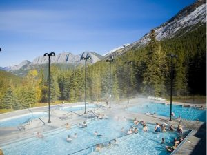 Miette Hot Springs aka Campervan Rental Shower