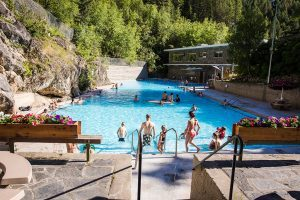 Radium Hotsprings aka Campervan Rental Shower