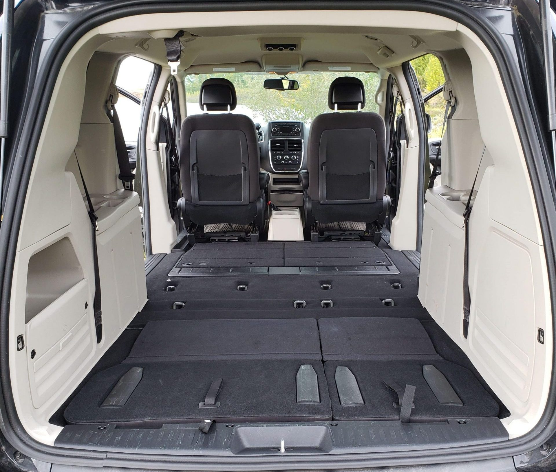 North Campervans Whatever You Want It To Be Van Interior Seats Stowed